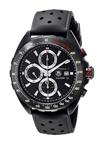 TAG Heuer Mens CAZ2011.FT8024 Analog Display Swiss Automatic Black Watch