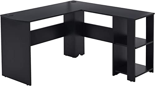 Vicllax L-Shaped Corner Writing Desk Computer Gaming Desk