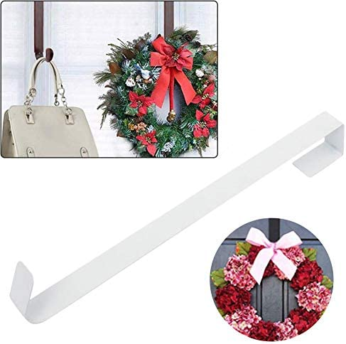 Wreath Hook Door Wreath Christmas for Front Door Christmas Decoration Wreath Perfect for Hanging Clothes Bag Scarves and Christmas Wreath