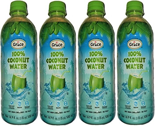Coconut Grace (GRACE 100% COCONUT WATER - NO PULP - NOT FROM CONCENTRATE 4PK)