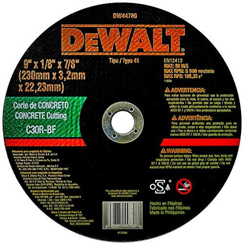 Disco de Corte para Concreto, DeWalt DW44780