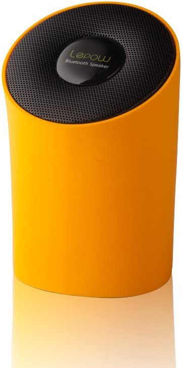 and More Portable Wireless Speaker Lepow Modre Portable Wireless Bluetooth Speaker with High Def Sound Connects with iPhone Orange Samsung iPad