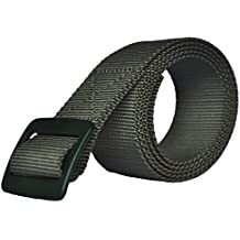"""Cutequeen 55""""x1.57"""" (1400x40mm)Nylon Canvas Waist Belt Breathable Military Tactical With Metal Buckle,Nickel Free and Security Friendly"""