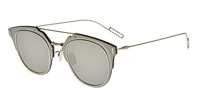 Image Unavailable. Image not available for. Color  New Christian Dior  COMPOSIT 010 0T 1.0 grey silver mirror Sunglasses d83ed4183708