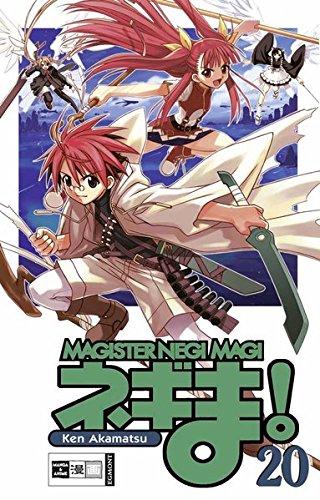 Negima! Magister Negi Magi 20 Taschenbuch – 12. Januar 2009 Ken Akamatsu Jens Altmann Egmont Manga 3770469623