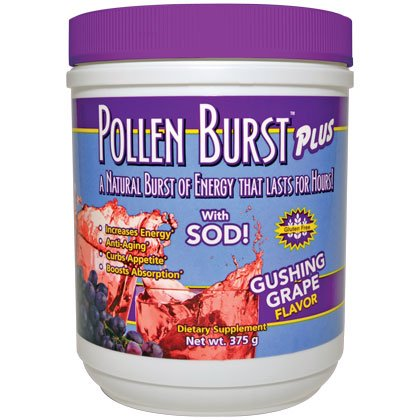 Pollen Burst Plus - Gushing Grape 375g - 3 Canisters by YNG