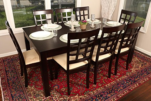 Butterfly Table And Chair Set (Formal 9 Piece - 8 Person Butterfly Extension Table 42