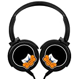 MagicQ Angry Afro Duck Emoticon Stereo Deep Bass Wired Headphones Earphones