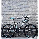 515eXdUf%2B L. SS150 Novokart-Sport Pieghevole/Mountain Bike 24/26 Pollici 10 taglierina, Bianco