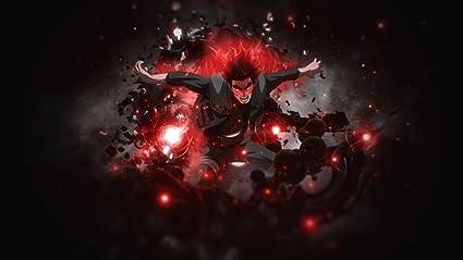 Amazon Com Xxw Artwork Naruto Might Guy Poster Uzumaki