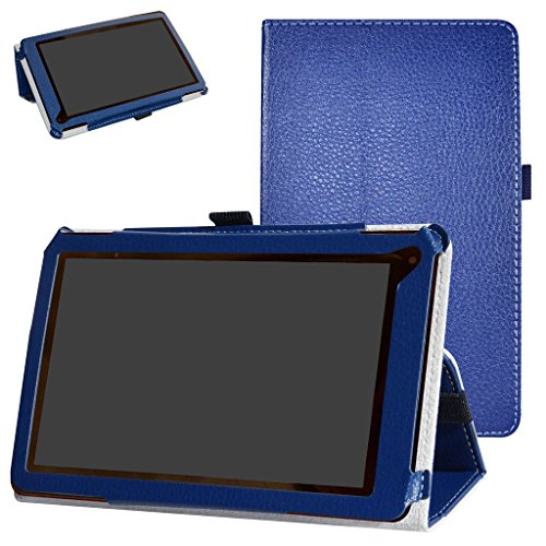RCA 7 Voyager III Case,Mama Mouth PU Leather Folio 2-folding Stand Cover for 7.0