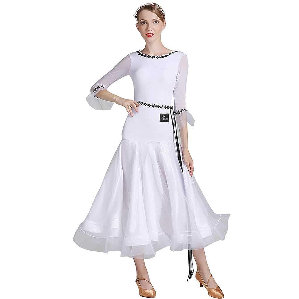 【メーカー再生品】 モダンダンススカート l|白 L 白、ドレス女性ナイロン白い服 B07H4JKV5K L l|白 白 L l, カミアマクサシ:25a192ca --- preocuparse.me