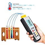 Thermocouple Thermometer, RISEPRO 4 Channel K Type
