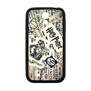 Zyhome Galaxy S4 Custom Harry Potter Inspirational Quotes Case Cover for SamSung Galaxy S4 I9500 (Laser Technology)