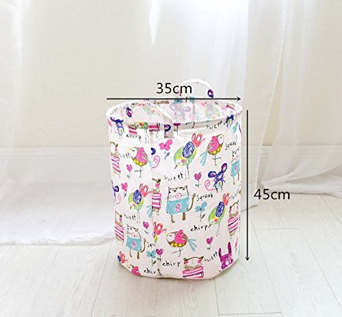 BranXin - Laundry Basket Dirty Clothes Storage Basket Baby T