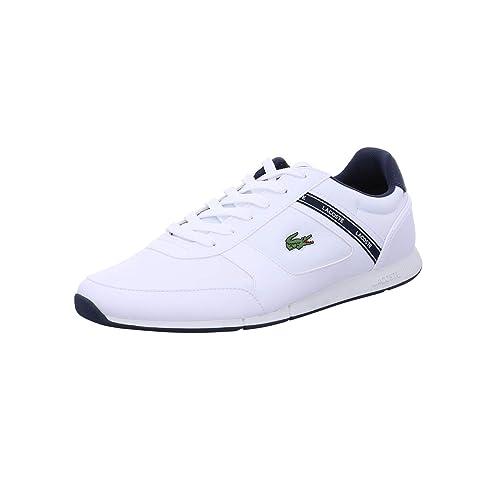 Lacoste MENERVA Sport 119 2 Blanco, Zapatillas para Hombre: Amazon.es: Zapatos y complementos