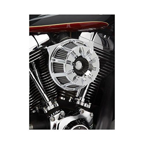 Arlen Ness 18-940 Chrome Inverted Series Air Cleaner Kit