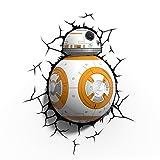 3D Light FX Star Wars BB-8 Droid 3D-Deco LED Wall Light
