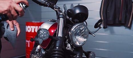 Kit Limpieza para Motos Limpia Casco + Abrillanta Moto + Engrasa Cadena + Crema de Manos Motul MC Care™ M1 M4 E10 C2