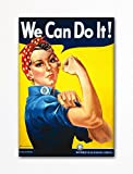 We Can Do It! Famous Rosie the Riveter Refrigerator