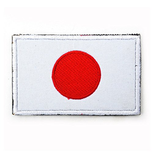 (Japan Flag Patch Embroidered Military Tactical Flag)