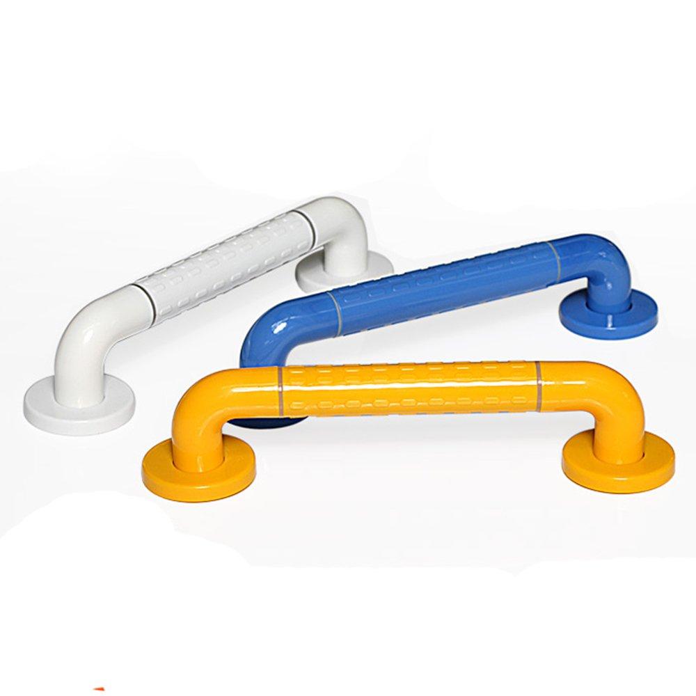 HUZHUANGZHUANG HZZymj-Baños Accesibles Personas Mayores Handrail Handicail baño Anti - Slip Safety Armrest, blu 78cm