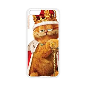 GARFIELD iPhone 6 Plus 5.5 Inch Cell Phone Case White Phone cover V92814723