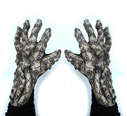 Zagone Studios Octopus Tentacles Sea Monster Hands Costume Gloves -