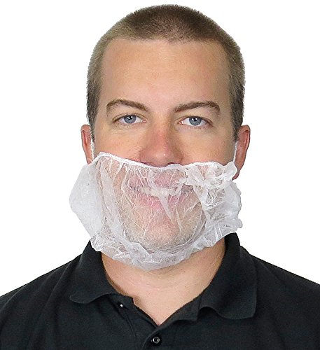 UltraSource Beard Nets, Latex Free Polypropylene, Bouffant, 21