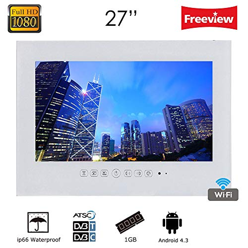 "Soulaca 27"" inch Android Smart Bathroom Wall Mount..."
