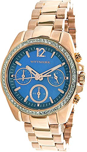 Used, Wittnauer womens WN4041 16mm Stainless Steel Rose Gold for sale  Delivered anywhere in USA