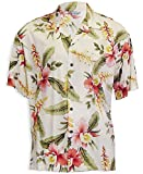 Two Palms Mens Sonic Orchid Shirt Beige 4X