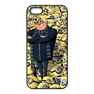Despicable Me HILDA5094340 Phone Back Case Customized Art Print Design Hard Shell Protection Iphone 5,5S