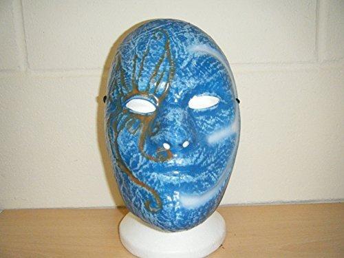 Wrestling Masks UK Men's Johnny 3 Tears Old School Undead Fancy Dress Mask One Size Multicoloured