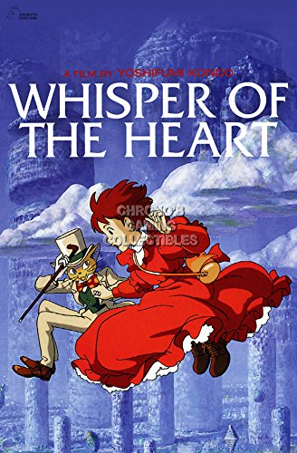 "CGC Huge Poster - Whisper of the Heart Movie Poster Studio Ghibli - STG078 (16"" x 24"" (41cm x 61cm))"
