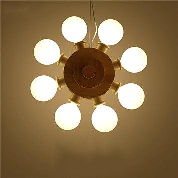 Araña FUFU Lámparas Colgantes Creativa de la lámpara de ...