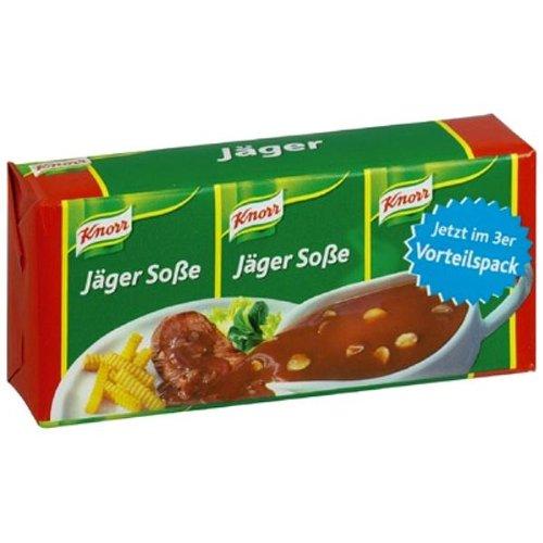 Knorr Hunter Sauce Mix (Jaeger Sosse) -Pack of 4 x 3 pack - Knorr Hunter