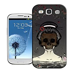WBOX DIY Perfect skull-wood-mask TUP Mobile Phone Hard Case Shell Fit for Samsung Galaxy S3 I9300