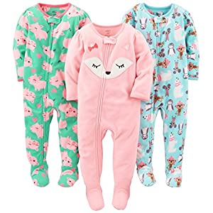 Simple-Joys-by-Carters-Girls-3-Pack-Loose-Fit-Flame-Resistant-Fleece-Footed-Pajamas