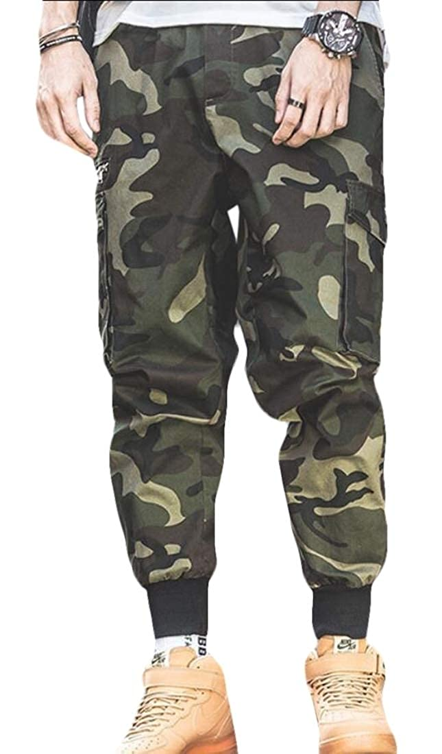 Beloved Mens Cotton Military Cargo Pant Work Combat Trousers