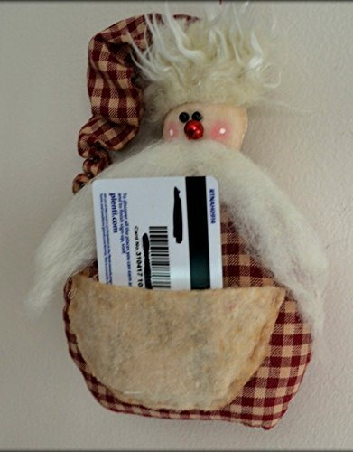 Grungy Tags (Gift card holder Santa Grungy primitive Ornament Free)