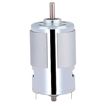 Fdit 12 V 100 Watt Runde Welle Elektrische Micro DC Motor 12000r / min High  Speed Große Drehmoment Elektromotor Mikromotor