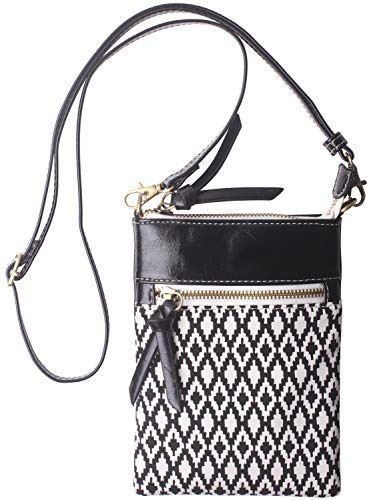 Original Womens Small Crossbody Bag Vegan Leather Cell Phone Purse Holder Wallet Functional Multi Zip Pocket For Women -
