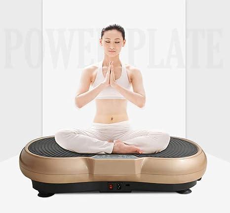 HFYAK Fitness 3D Placa Vibración, Entrenador Vibraciones ...