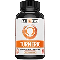 Turmeric Curcumin and Ginger with Bioper...