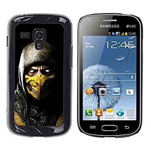 Design for Girls Plastic Cover Case FOR Samsung Galaxy S Duos S7562 SCORPION MK MORTAL COMBAT OBBA