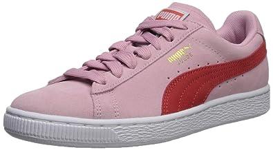 online store 46d88 8cead PUMAPUMA-355462 - Suède Classique Femme, Rose (Pale Pink-Hibiscus),
