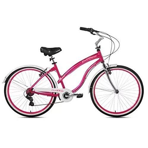 """26"""" Kent Del Rio Women's Cruiser Bike, Magenta"""