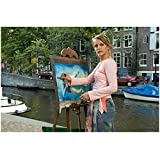 Deuce Bigalow: European Gigolo 8 inch x10 inch Photo Hanna Verboom Painting Man in Water Next to River kn