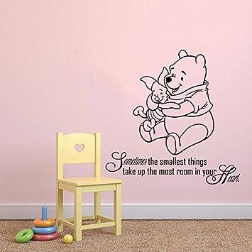 Wandtattoo Winnie Pooh Zitat Sprüche Wandaufkleber für Baby Spruch ...